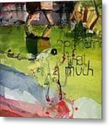 Abstract Women 023 Metal Print