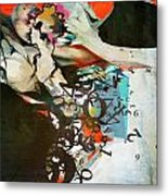 Abstract Women 025 Metal Print