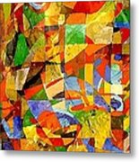 Abstraction 0368 Marucii Metal Print