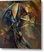 Abstraction 0497 Marucii Metal Print