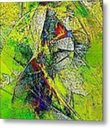 Abstraction 0527 Marucii Metal Print