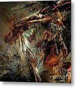 Abstraction 0599 - Marucii Metal Print