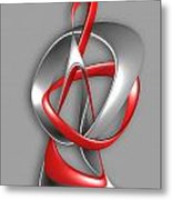 Abstraction 458-09-13 Marucii Metal Print