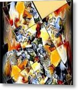 Abstraction 596-11-13 Marucii Metal Print