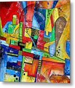 Abstraction 599-14 - Marucii Metal Print