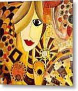 Abstraction 676 - Marucii Metal Print