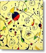 Abstraction 754 - Marucii Metal Print