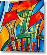 Abstraction 756 - Marucii Metal Print
