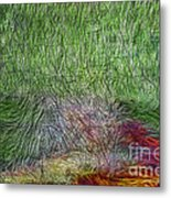 Abstraction Of Life Metal Print