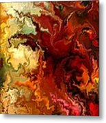 Abstraction Surrealist By Rafi Talby Metal Print