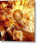 Abstraction072-13 Marucii  Metal Print
