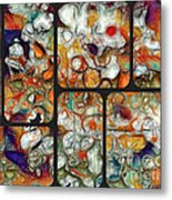 Abstractionnel -29a02 Metal Print