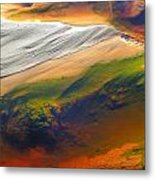 Abstracts Extremophile  Metal Print