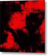 Abtract Batik Pattern Metal Print