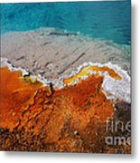 Abyss Pool Metal Print