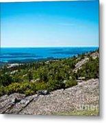 Acadia Blue Metal Print