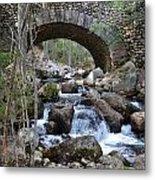 Acadia National Park Bridge Metal Print