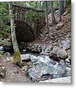 Acadia National Park Carriage Road Bridge Metal Print