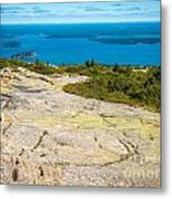 Acadia Views Metal Print
