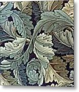 Acanthus Leaf Design Metal Print by William Morris