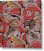 Acanthus Leaf Metal Print