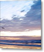 Accelerate Metal Print