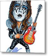 Ace Frehley Metal Print
