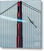 Ace Maker And The Golden Gate Metal Print