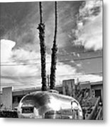 Ace Trailer Palm Springs Metal Print
