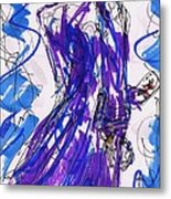 Aceo Joker V Metal Print by Rachel Scott