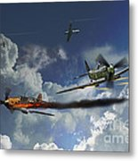 Aces High Metal Print