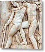 Achilles And Penthesilea Metal Print