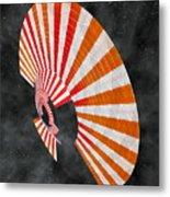 Aciluce Spacebloom Metal Print