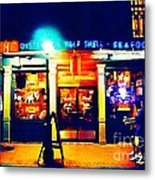 Acme Oyster Shop New Orleans Metal Print