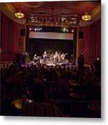 Acoustic Alchemy On Stage Metal Print