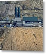 Across The Berkeley Pit Viewing  Metal Print