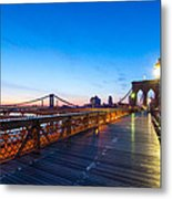 Across The Bridge Metal Print by Daniel Chen