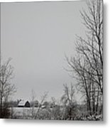 Across The Field Metal Print