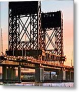 Across The Hackensack Metal Print