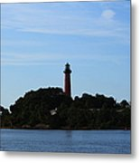 Across The Inlet Metal Print