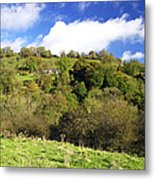 Across The Southern End Of Monk's Dale Metal Print