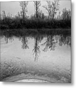 Across The Water Metal Print by Davorin Mance
