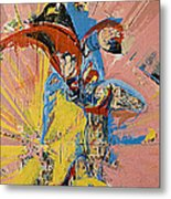 Action Abstraction No. 14 Metal Print