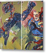 Action Abstraction No. 20 Metal Print