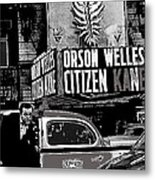 Actor Co-writer Director Orson Welles Premier  Citizen Kane Palace Theater New York  May 1 1941-2014 Metal Print