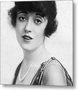 Actress Mabel Normand Metal Print
