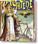 Ad Bicycles, 1898 Metal Print