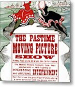 Ad Moving Picture, 1913 Metal Print