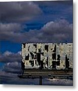 Ad Space Available Metal Print