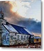 Adak Alaska Church Metal Print